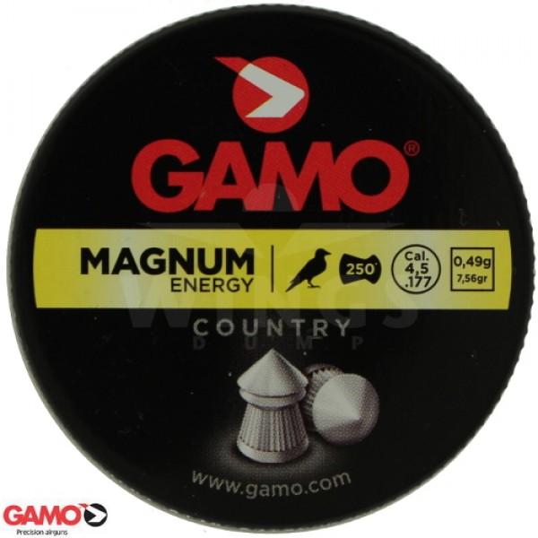 Gamo magnum 4,5 m.m. 250 stuks