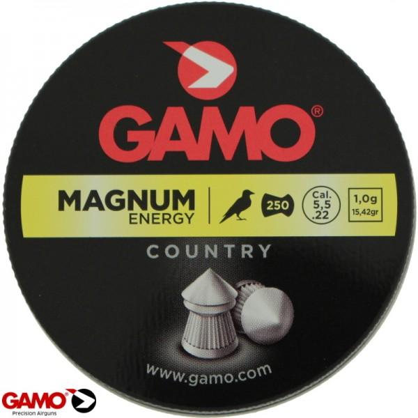 Gamo magnum 5,5 m.m. 250 stuks