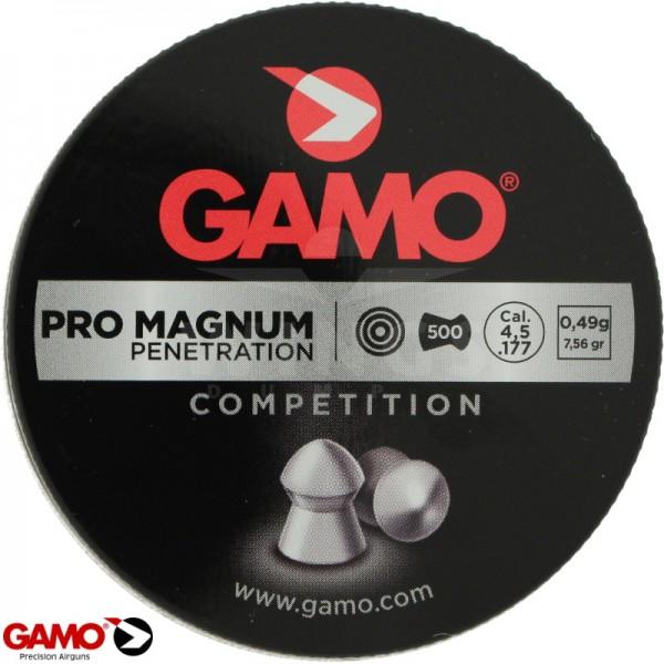 Gamo pro magnum 4,5 m.m. 500 stuks