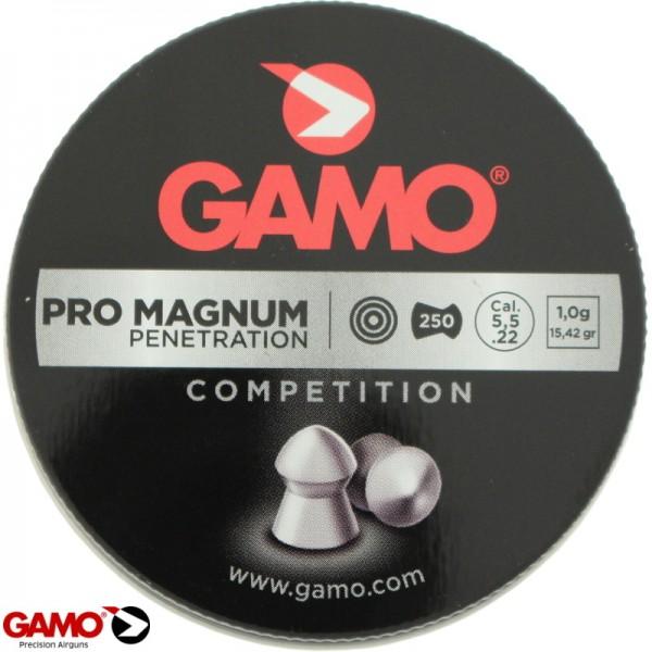 Gamo pro magnum 5,5 m.m. 250 stuks