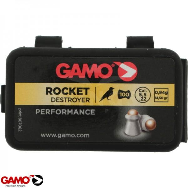 Gamo rocket 5,5 m.m. 100 stuks