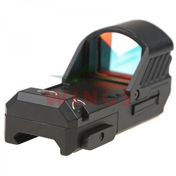Open reflex red dot sight zwart