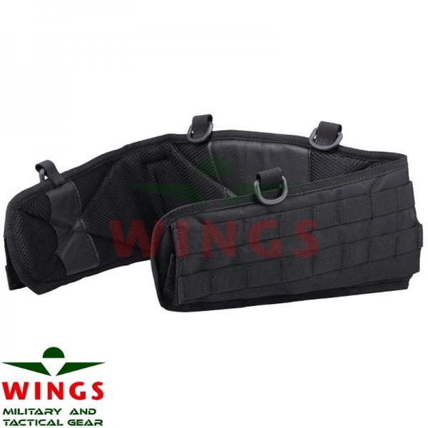 Tactical Molle belt cordura zwart