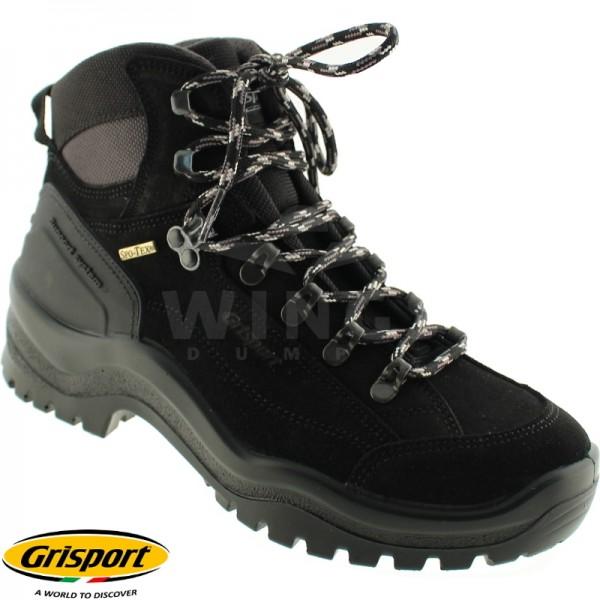 Grisport Boots Bergen mid zwart