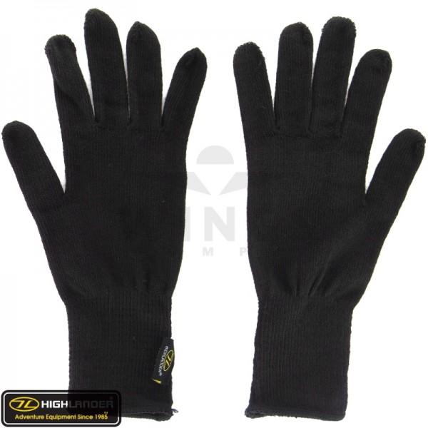 Highlander thermo handschoen zwart