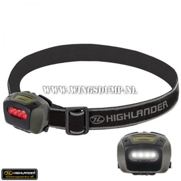 Highlander Mira 4 led hoofdlamp