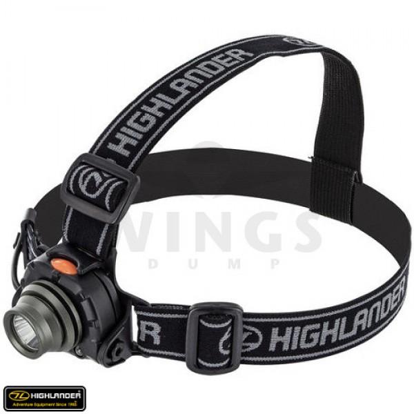 Highlander Wave 3Watt sensor hoofdlamp