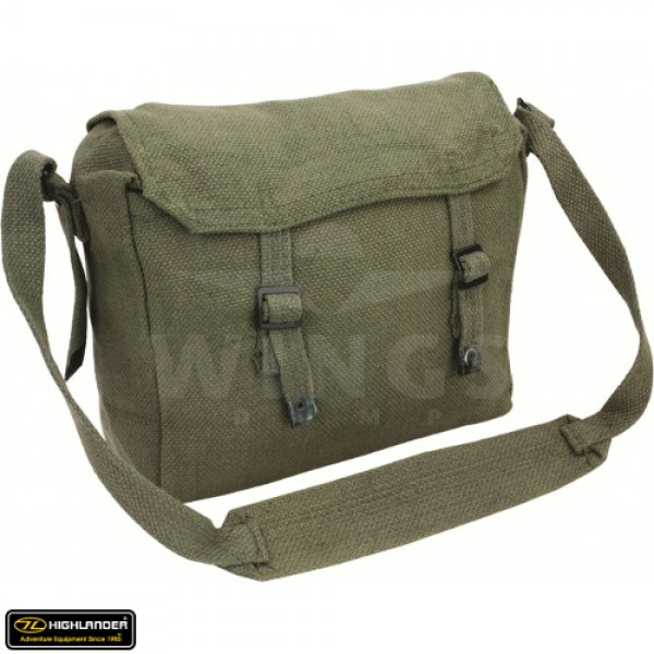 Pukkel India canvas groen