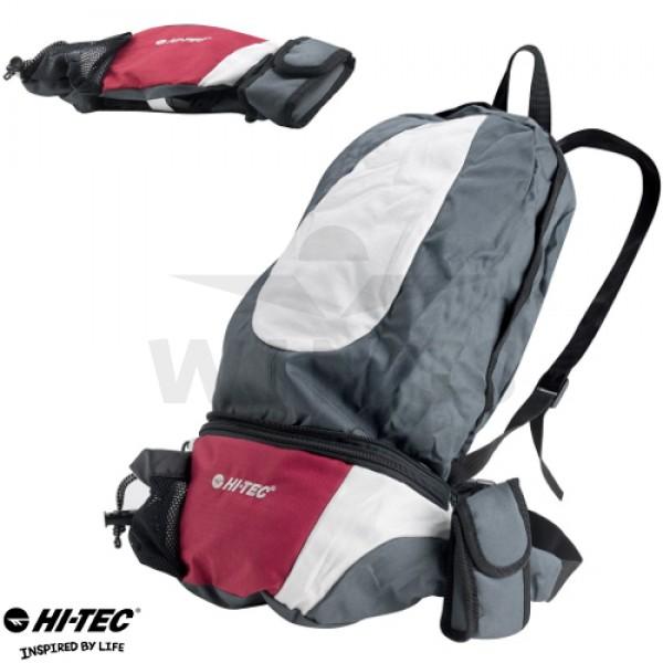 Heuptas en rugzak Hi-tec grey/red