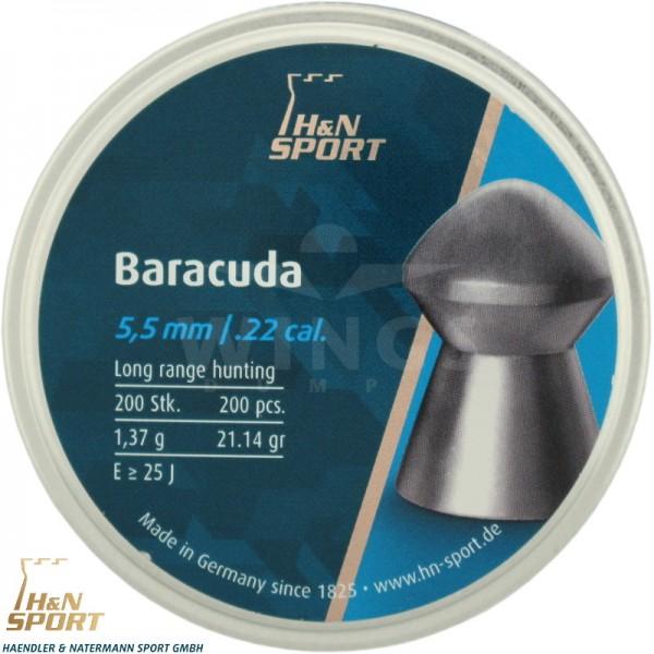 H&N Baracuda 5,5 m.m. 200 stuks