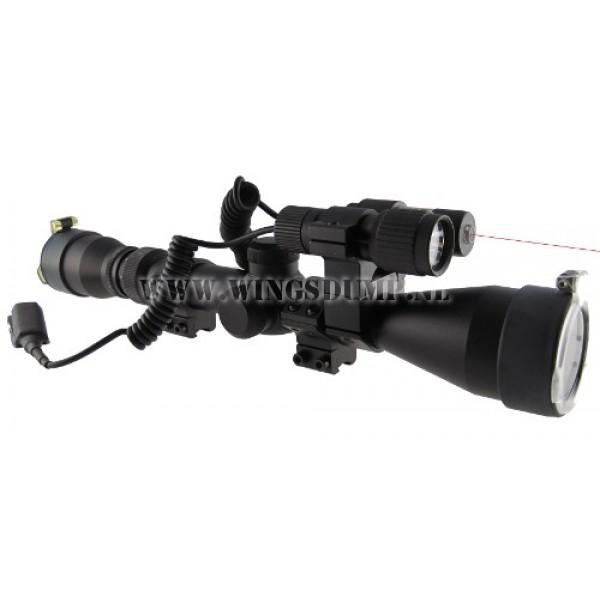 Hunter Eco telescoopvizier Vampir 3-9x40