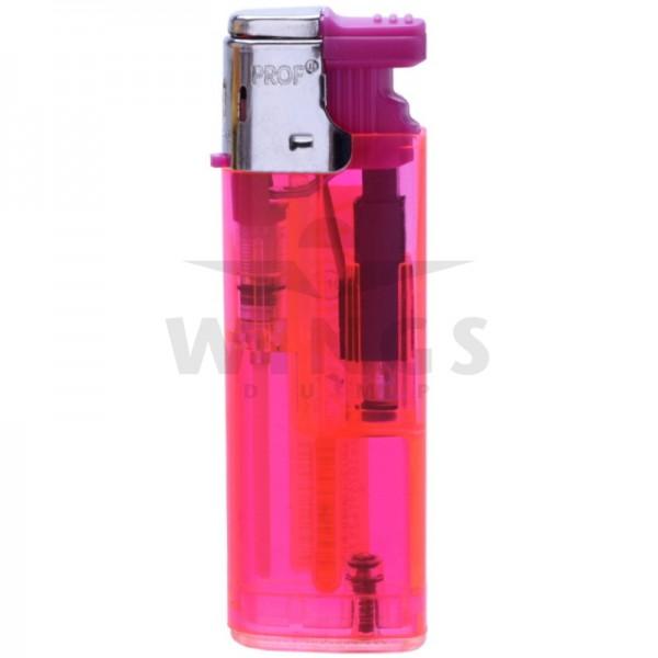 Gas aansteker turbo navulbaar roze
