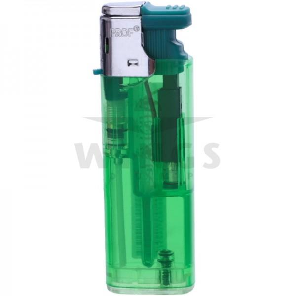 Gas aansteker turbo navulbaar groen