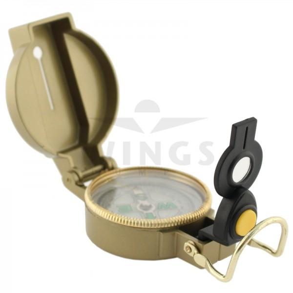 Kompas vloeistofgedempt met ledlampje