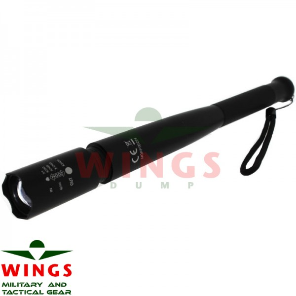 Ledlamp tactical self defense 30 cm.