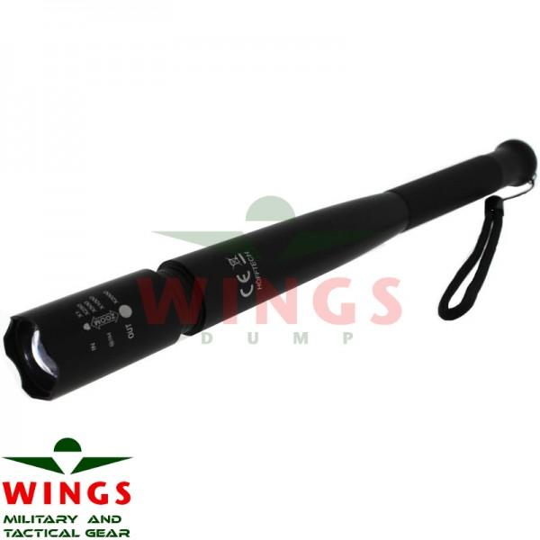 Ledlamp tactical self defense 30 cm.