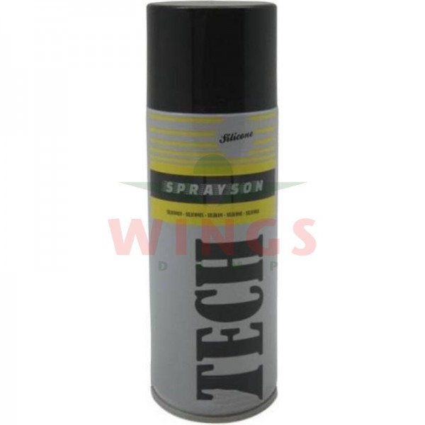 Tech siliconenspray universeel 400 ml.