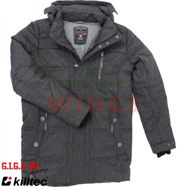 Killtec Giga DX Quiterro parka grey