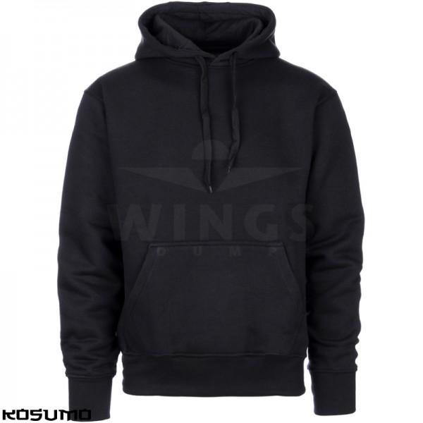 Streetfighter hooded sweater zwart