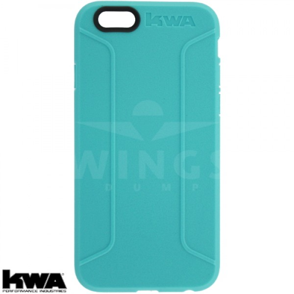 KWA combat cover voor Iphone 6/6S of Plus aqua