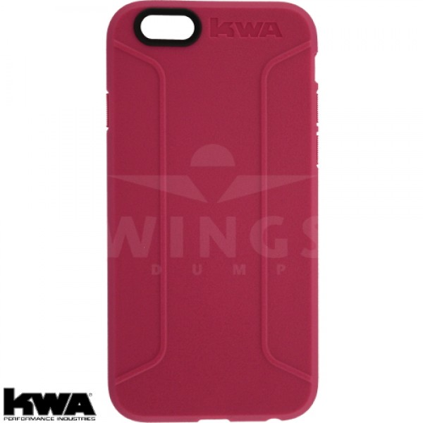 KWA combat cover voor Iphone 6/6S of Plus pink