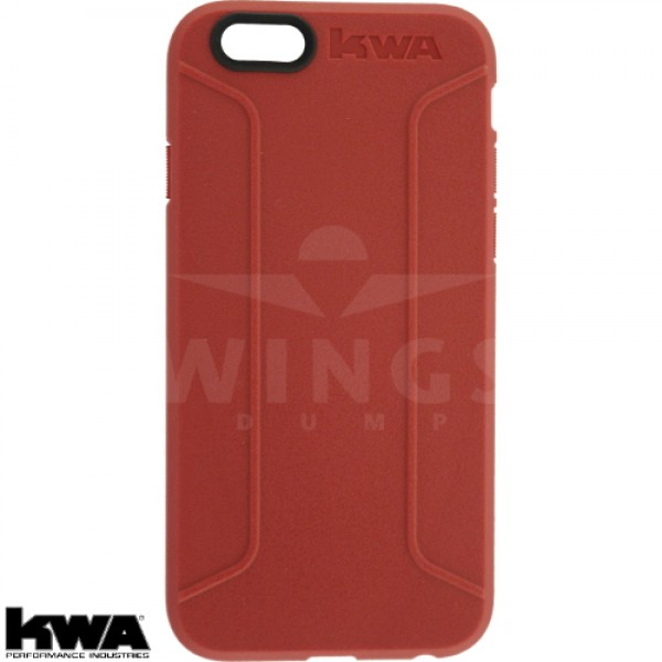 KWA combat cover voor Iphone 6/6S of Plus red