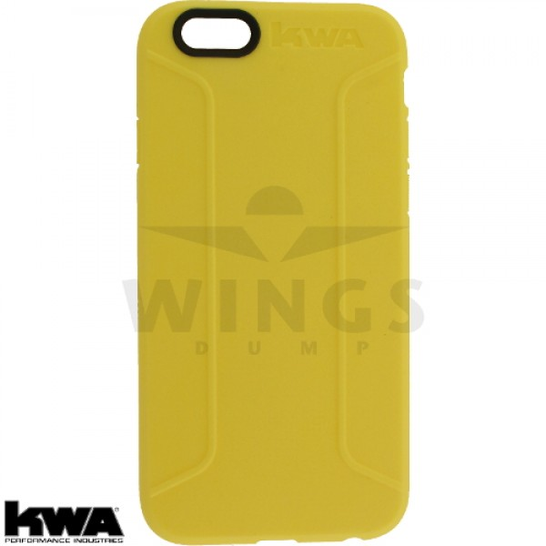 KWA combat cover voor Iphone 6/6S of Plus yellow