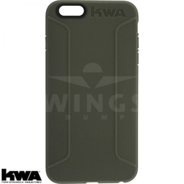 KWA combat cover voor Iphone 6/6S of Plus grey