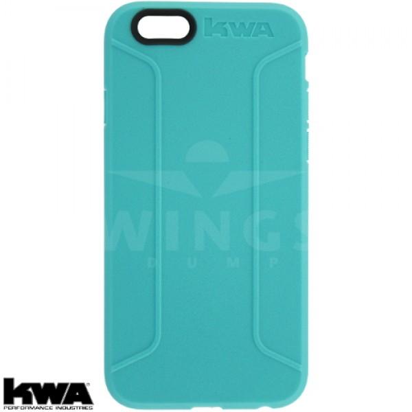 KWA combat cover voor Iphone 6/6S of Plus aqua