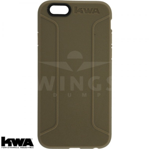 KWA combat cover voor Iphone 6/6S of Plus coyote tan