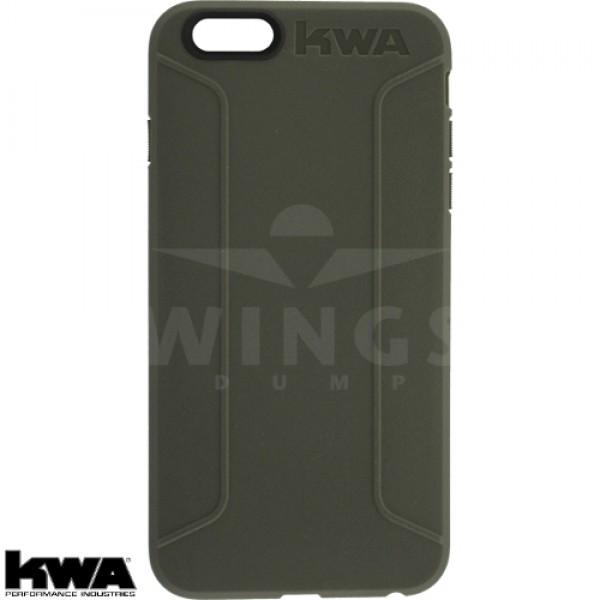 KWA combat cover voor Iphone 6/6S of Plus grey