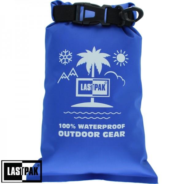 Waterdichte zak Lastpak 2 ltr. blauw