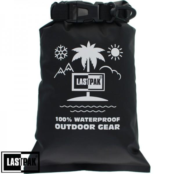 Waterdichte zak Lastpak 2 ltr. zwart