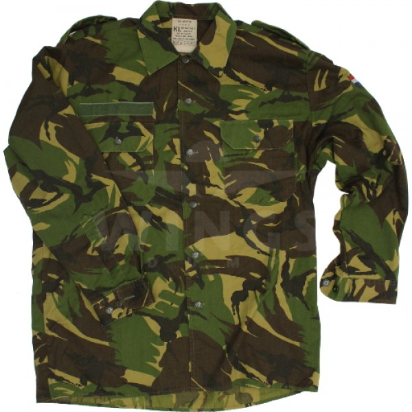 Militair overhemd gebruikt NL Camo