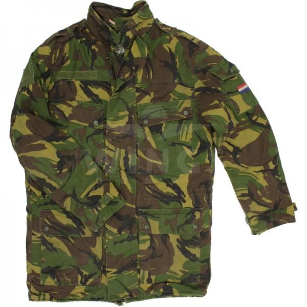 Militaire parka gebruikt NL Camo