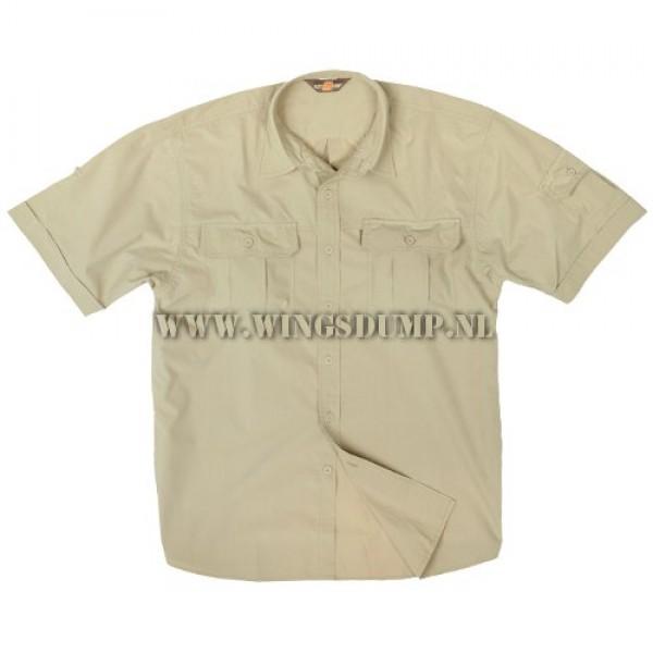 Antonio overhemd beige