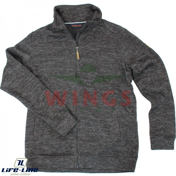Life-Line Hexman fleece jack grey