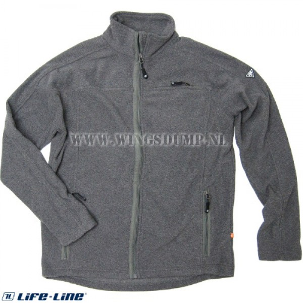 Life-Line Light fleece jack grijs