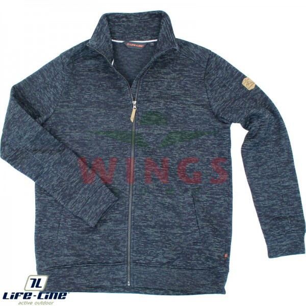 Life-Line Hexman fleece jack navy