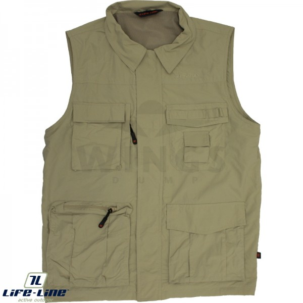 Life-Line Active outdoorvest beige