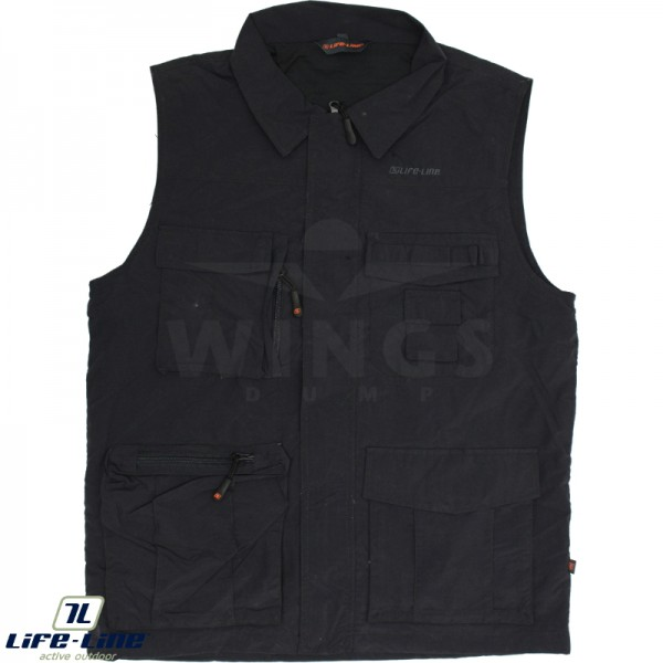Life-Line Active outdoorvest dark grey