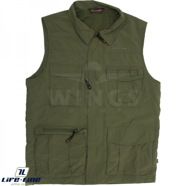 Life-Line Active outdoorvest green