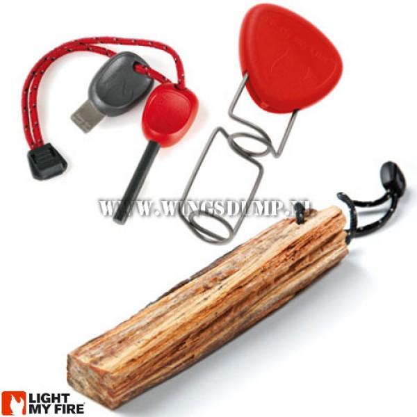 Light my Fire Lighting Kit Red