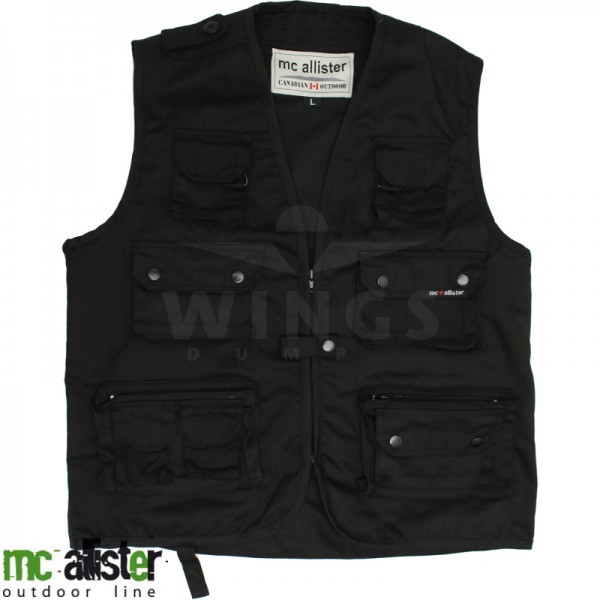 Mc Allister outdoorvest zwart