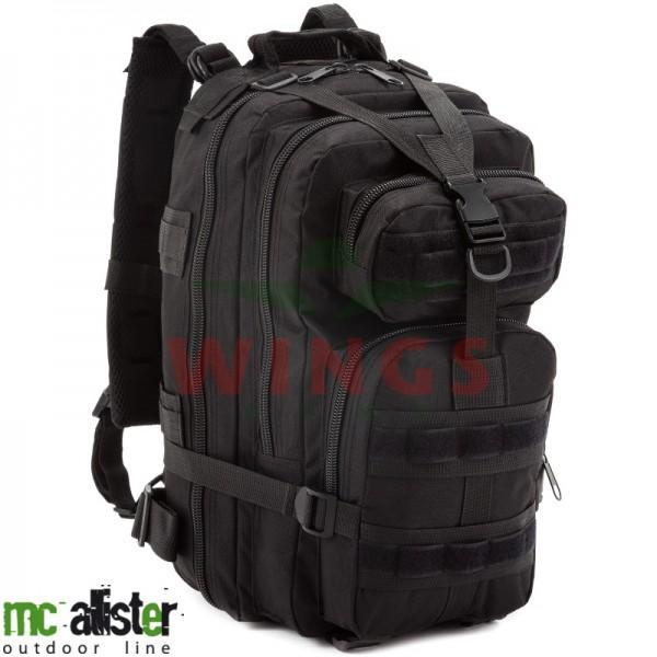 McAllister rugzak Zero-Six zwart