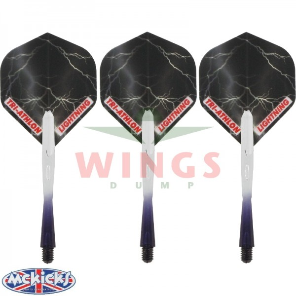 Thunder shafts en flights zwart medium