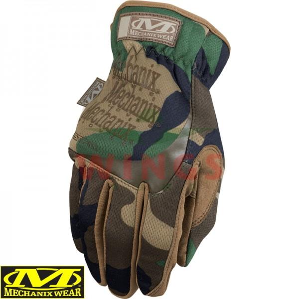 Mechanix Wear Fastfit handschoen woodland