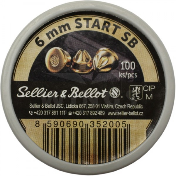 Alarm patronen 6mm Sellier Bellot