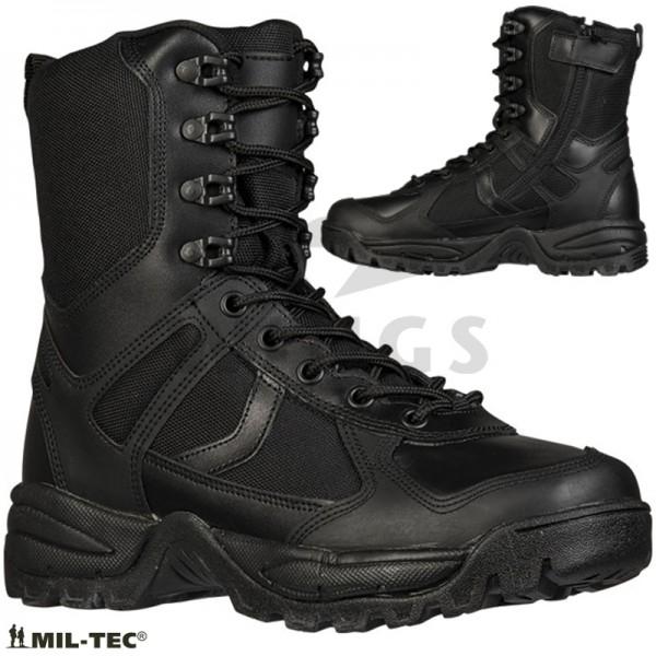 Mil-tec Patrol sidezip boots zwart