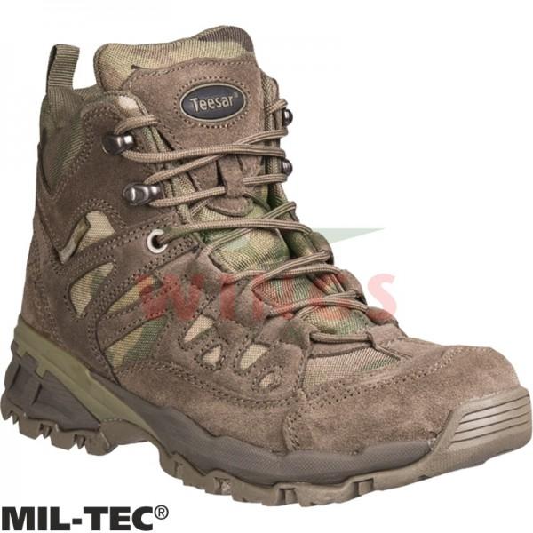 Mil-tec Squad Boots 5 inch multicamo